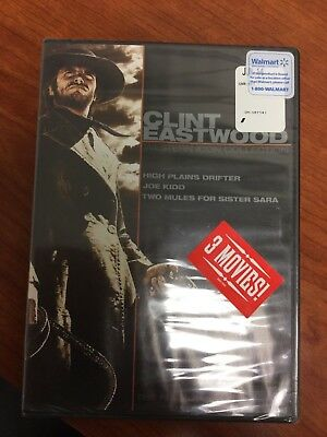 Clint Eastwood: Western Icon 3 movie Collection (DVD, 2007, 2-Disc Set)