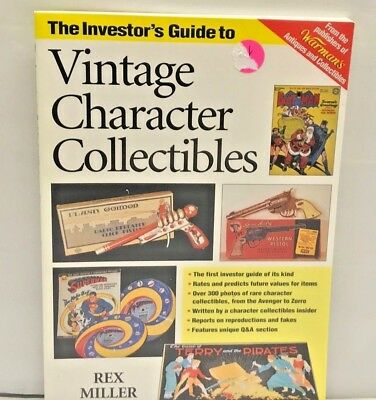 Investor's Price identification Guide Vintage Antique Character Collectible BOOK