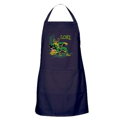 CafePress Marvel Comics Loki Retro Kitchen Apron (1397755583)
