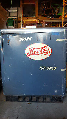 Vintage Ideal 55 Slider (RARE) DOUBLE DOT Pepsi Machine Dispenser Cola Soda Pop