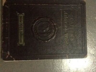 Capper`s Atlas of the World New 1935 Edition