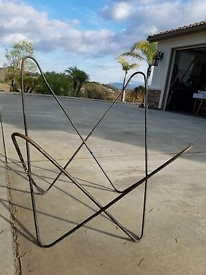 Authentic Eames Era 1960s Mid Century Modern Butterfly Chair FRAME ONLY