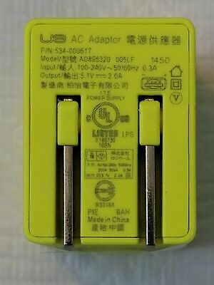 LOGITECH Ultimate Ears UE Megaboom AC Adapter 5V 2A USB Charger 534-000672