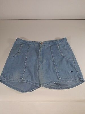 70s-80s Vintage Baby Blue Ocean Pacific Shorts Size 32