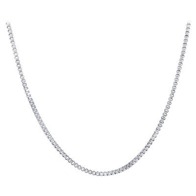 Stainless Steel 2mm wide Box Chain Necklace #ANNK014-20