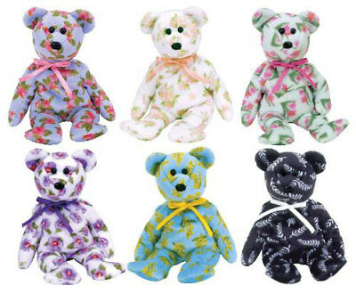 TY Beanie Babies - ASIA PACIFIC 2004 Exclusive Bears (Set of 6) (8.5 inch) MWMTs