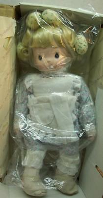 "Precious Moments DOLL ""TELL ME THE STORY OF JESUS"" 14"" Plush DOLL NEW BOX 1994"