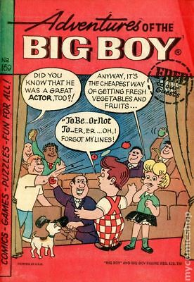 Adventures of the Big Boy #169 1970 VG Stock Image Low Grade