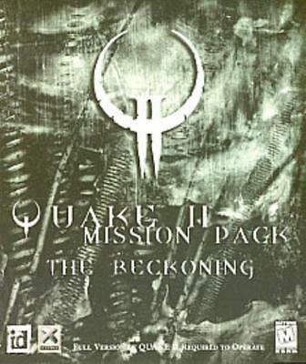 ID Software Computer Game Quake II Mission Pack - The Reckoning Box NM