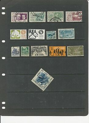 Mexico - Collection Of Used Stamps  (1 Scans) - #mex1