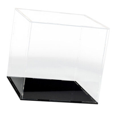 Mini Diecast Car Truck Display Case Box Holder Clear Perspex Gift 15x15x15cm