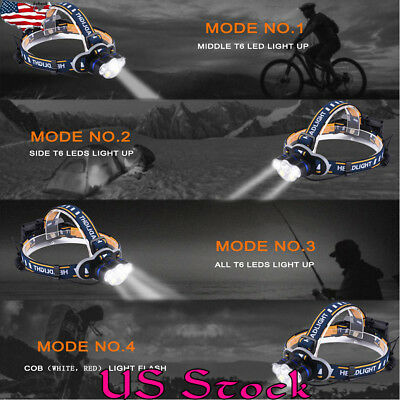 LED Headlamp Headlight Flashlight Outdoor Camping Fishing Head Lamp Torch Lights