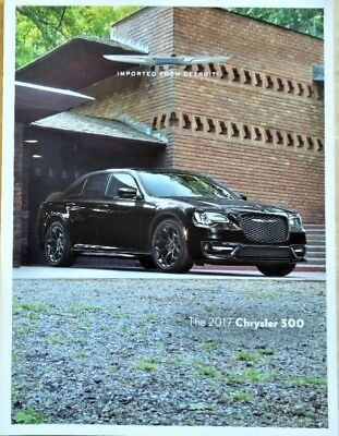 2017 Chrysler 300C 300S Limited Platinum 48 Page Dealer Sales Brochure