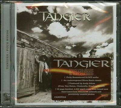 Tangier Four Winds CD new Rock Candy Records Reissue