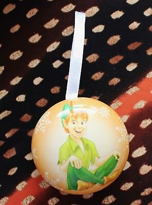 #4 Hallmark Disney Countdown Fillable Christmas Ornament Peter Pan
