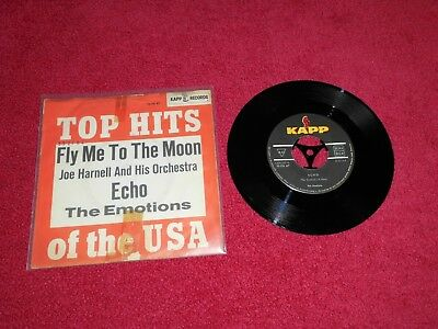 EMOTIONS ECHO + JOE HARNELL FLY ME TO THE MOON Vinyl TOP ZUSTAND