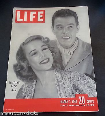 March 7, 1949 LIFE Magazine old 40s COKE COLA ad Advertising FREE SHIPPING 3