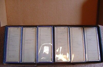 VTG Lot 6 ARGUS Automatic Slide Changer Magazines preowned green box Germany