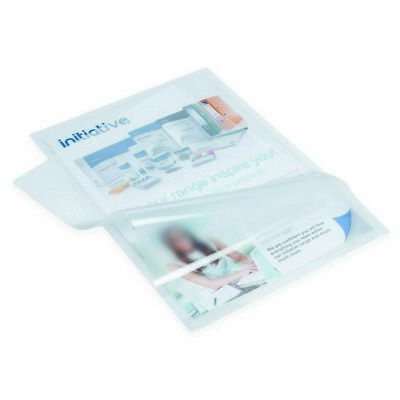 100 x A4 Laminating Pouches Laminate Sheets Sleeves 150 Micron Clear Gloss