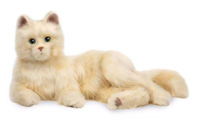 Hasbro Joy For All Creamy White Cat Mimic Real Cats Pet Companion All Ages Kitty