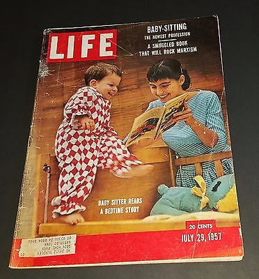 July 29, 1957 LIFE Magazine Ads Old ads + FREE SHIPPING 7 57 30 31 28 27 26 25