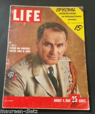 August 4, 1958 LIFE Magazine ANTARTIC Old 50s ads FREE SHIPPING Aug 8 1 2 3 5 6