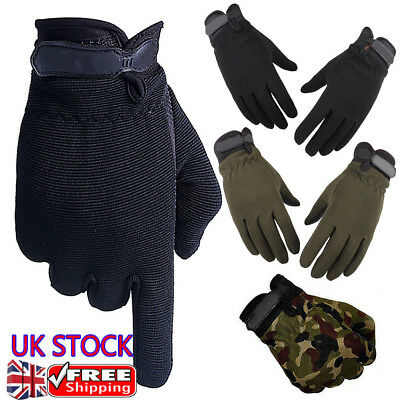 Men Women Anti-Slip Military Outdoor Sport Gloves Hiking Cycling Mountaineering