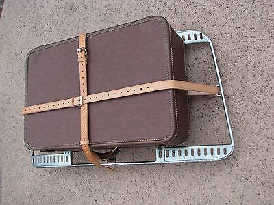 PORSCHE 356 Reutter Trunk Rack Leather Luggage Straps Hand Made in the USA Brown