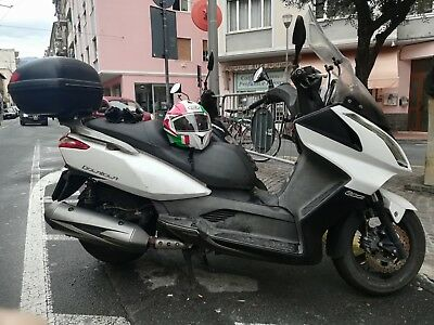 scooter kymco 300 downtown bianco