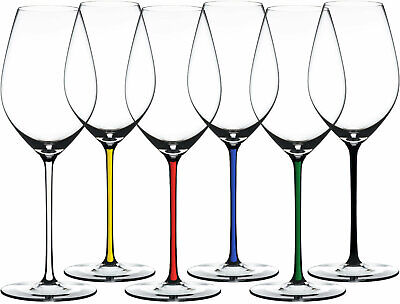 Riedel Fatto A Mano Champagne Glass Gift Set, Set of 6 Assorted