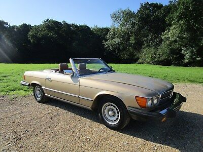 Mercedes 380sl R107 LHD Rust Free Car 112k miles. New MOT