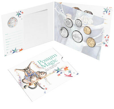2019 Australia's Baby Uncirculated Coin Mint Set - Possum Magic