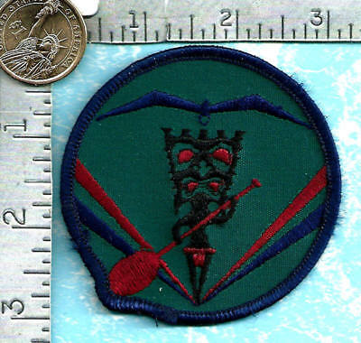 USAF patch (circa 1980's) - 154th Mission Support Squadron (Hickam AFB, Hawaii)