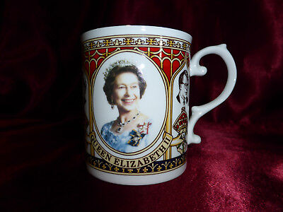 90s Queen Elizabeth & British Premiers/Prime Ministers Royal RARE CUP Coverswall