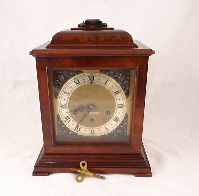 Seth Thomas Legacy 2W Westminster Chime Mantle Clock #124 With Key