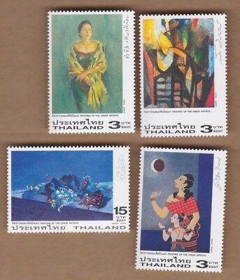 2003 Thailand Paintings SG 2396/9 MUH Set 4
