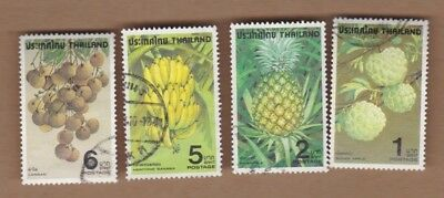 1979 Thailand Fruit SG 988/91 Fine Used Set