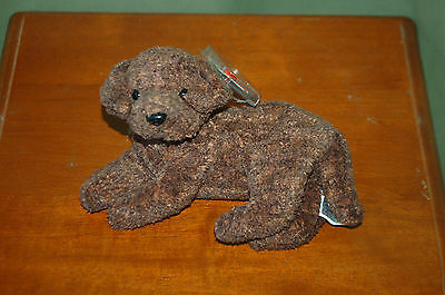 655a05a7db8 FETCHER THE DOG - Ty Beanie Baby - MWMT - Too Cute - Fast Shipping ...