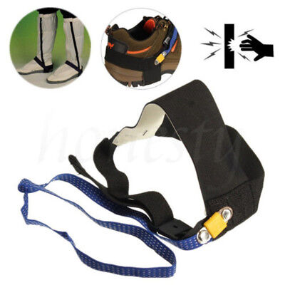 Ground Heel Electronic Discharge Belt Adjustable Anti Static Rubber Foot Strap