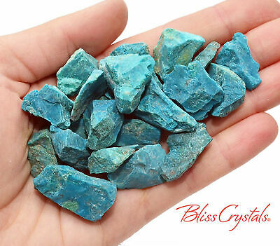 CHRYSOCOLLA Teal Natural Rough Stone (2 oz +) #CR01