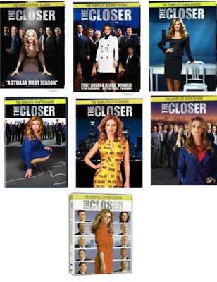 THE CLOSER Complete Series Collection on DVD Seasons 1-7 Season NEW