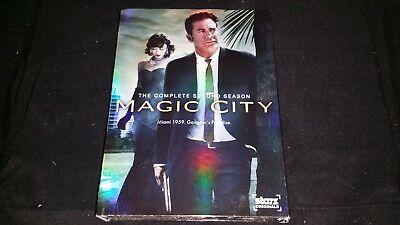 Magic City The Complete Second Season Dvd 3 Disc Set Television Tv Series Video
