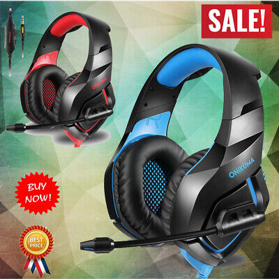 Stereo Gaming Headset Headphone for PC, PS4, XBOX ONE, IPAD And Laptop Computer