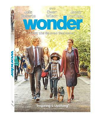 Wonder (DVD, 2018) Drama, Family *Free Shipping