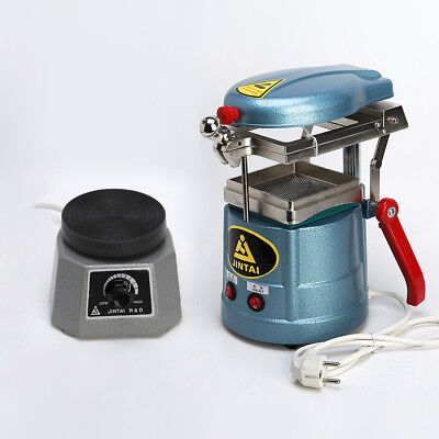 Dental Lab Vacuum Forming Molding Machine Former Thermoforming +Round Shaker