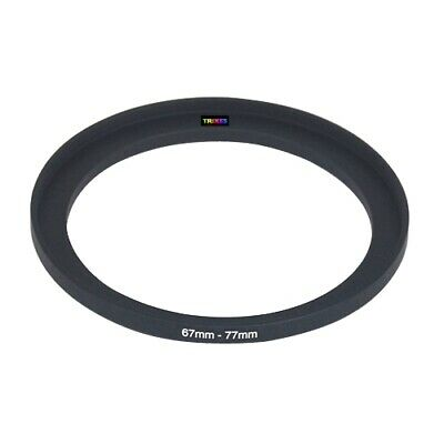 67mm to 77mm 67-77 Stepping Step Up Filter Ring Adapter - By TRIXES