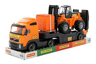 "Polesie 58409 ""Volvo powertruck Trailer Truck Konstruktion Spielzeug-Set in"