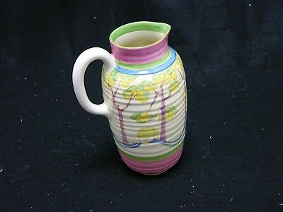 "CLARICE CLIFT  ""Bizarre"" Jus Fantasque Jug  (MS140)"