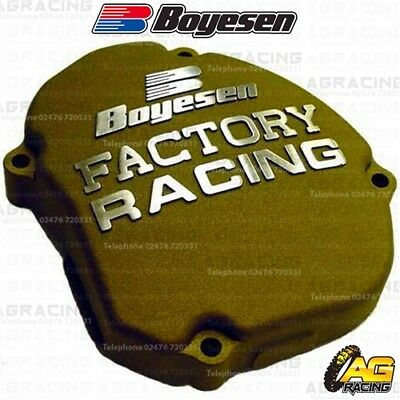 Boyesen Factory Racing Magnesium Ignition Cover For Yamaha YZ 125 2005-2018