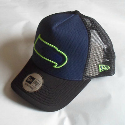 Seattle Seahawks Licenced NFL 9FORTY Trucker Adjustable Cap